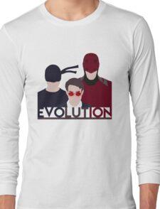 DareDevil 2015 Tv Show - EVOLUTION Long Sleeve T-Shirt