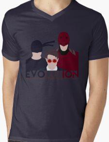 DareDevil 2015 Tv Show - EVOLUTION Mens V-Neck T-Shirt