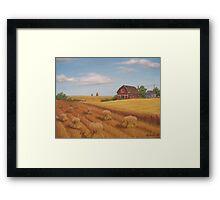 Prairie Scene Framed Print