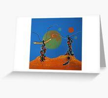 Totem Elders - Original SOLD Greeting Card