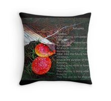 Refugees Throw Pillow