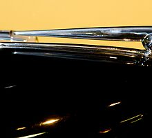 old Lincoln hood Ornament by Jeffrey  Sinnock
