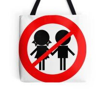Children Banned Tote Bag