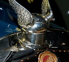 Chrysler Hood Ornament by Jeffrey  Sinnock