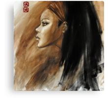the rain stopped falling... Canvas Print