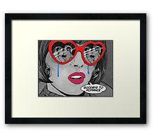 Goodbye Romance  Framed Print
