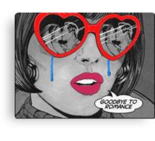 Goodbye Romance  Canvas Print
