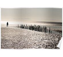 Edge of the World - Solway Firth, Scotland, UK Poster