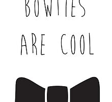 Bowties are Cool by pinklilyphotos