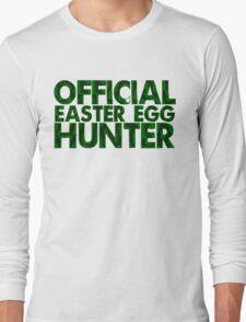 Official Easter Egg Hunter Long Sleeve T-Shirt