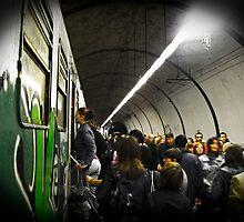 Tube Train by Tiziano Cocciò