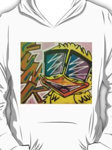 "Funky Chicken by Efrain ""Eskwilax"" Martinez T-Shirt"