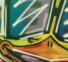 """Funky Chicken by Efrain """"Eskwilax"""" Martinez Sticker"""