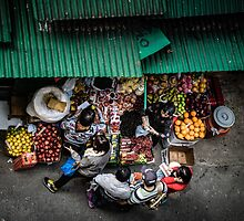Street Vendors by Shari Mattox