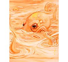 McThundar the Octopus of October Photographic Print