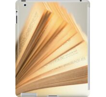 Flipping Pages iPad Case/Skin