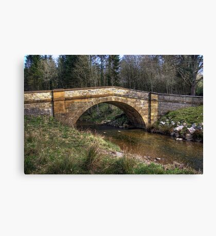Hawnby Bridge - North Yorkshire Canvas Print