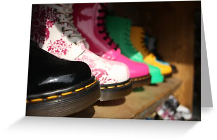 These Boots are made for Walkin' by Matt  Williams