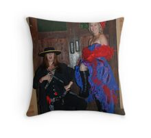 Chris and I Throw Pillow