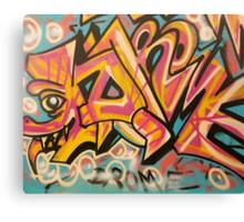 """DROME by Efrain """"Eskwilax"""" Martinez Canvas Print"""