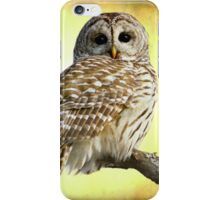 She sees right into the heart of me iPhone Case/Skin