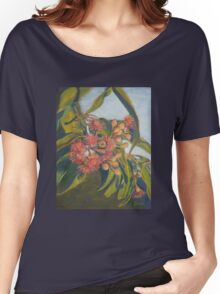 Afternoon Blossoms Women's Relaxed Fit T-Shirt