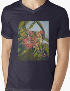 Afternoon Blossoms Mens V-Neck T-Shirt
