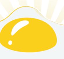 Sunny Side Up (0-15-100-0) Sticker