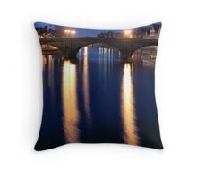 Turning point between night and day #1 Throw Pillow