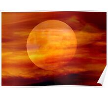 Martian Moon Poster