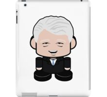 "Bill ""Bubba"" Clinton Politico'bot 1.0 iPad Case/Skin"