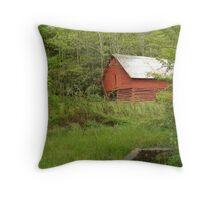 Red Barn Cherokee Throw Pillow