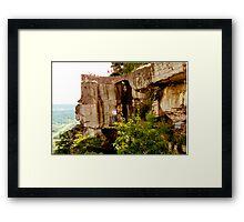 Ridge of Stone Framed Print