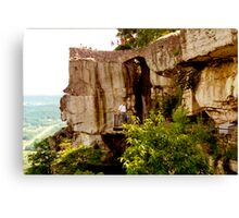 Ridge of Stone Canvas Print