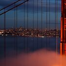 Bridge and City by jswolfphoto