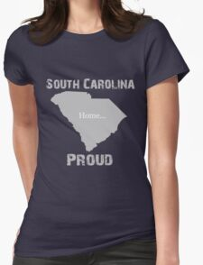 South Carolina Proud Home Tee Womens Fitted T-Shirt
