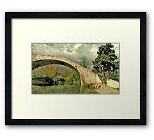 Bucolic Tones Framed Print