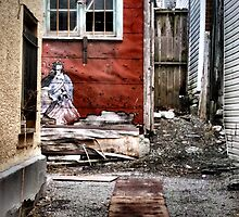 Back Alley in the Old Part of Town by M Sylvia Chaume