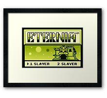 Tetrernia Framed Print