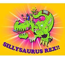Sillysaurus! Photographic Print