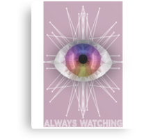 Always Watching Canvas Print