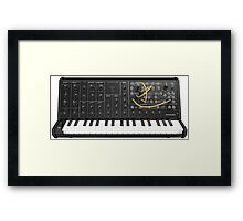 Awesome Electronic Music Synthesizer -  Framed Print
