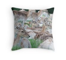 Over There Throw Pillow