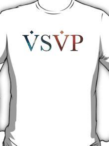 Asap Blue and Orange Nebula T-Shirt
