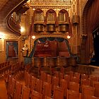 Interior of Mabel Tainter Theater by Mary Kaderabek-Aleckson