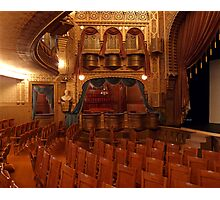 Interior of Mabel Tainter Theater Photographic Print