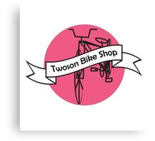 Twoson Bike Shop Logo Canvas Print
