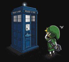 Ocarina of Time Travel Baby Tee
