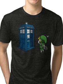 Ocarina of Time Travel Tri-blend T-Shirt