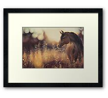 A Lovely Thought Framed Print